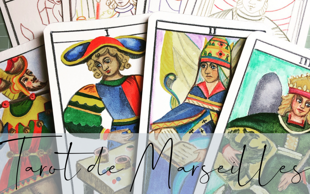 My Watercolour Tarot de Marseilles